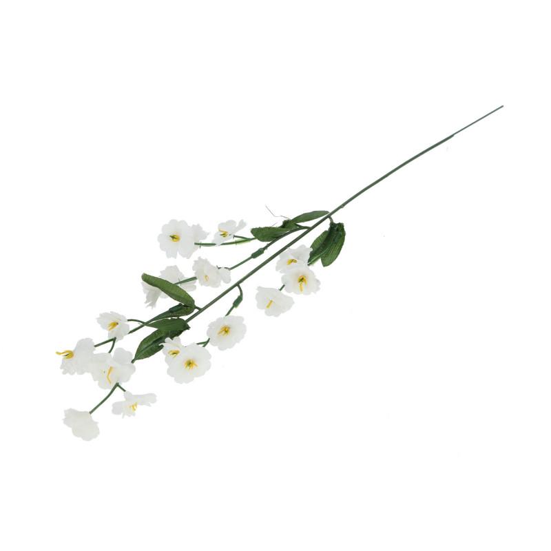 Искусственные цветы: гибсовая белая