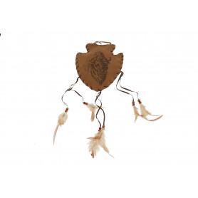 Zawieszka ozdobna z motywem żubra