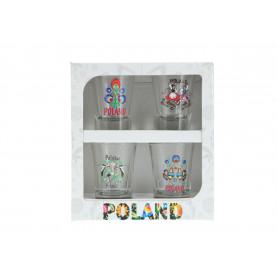 Стеклянная рюмка FOLK упак.4
