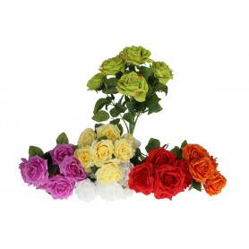 Kwiaty sztuczne bukiet róż