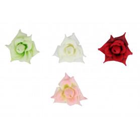 Искусственные цветы: роза острая (бутон )