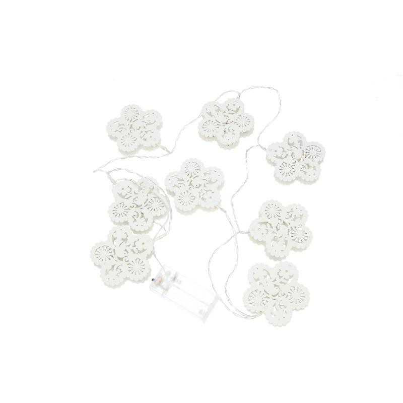 Tw.sztuczne girlanda led kwiatek
