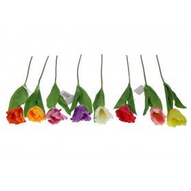 Kwiat sztuczny tulipan pojedynczy