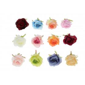RÓŻA LEKKO ROZWINIĘTA (wyrobowa)-Kwiaty sztuczne