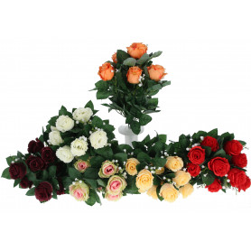 Kwiaty sztuczne bukiet różax10