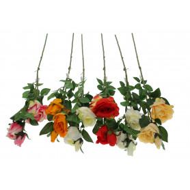 Kwiat sztuczny róża pojedyncza