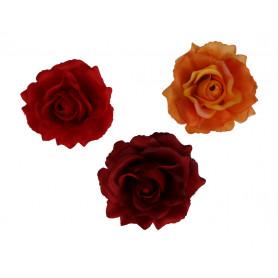 Kwiaty sztuczne róża wyrobowa mix 96 szt