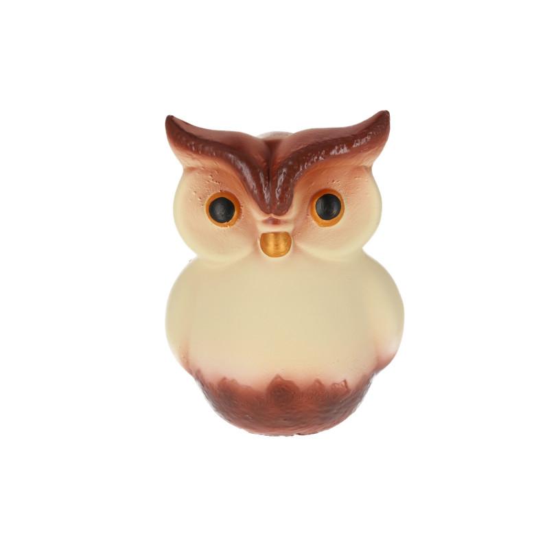 Ceramiczna figurka sowa śr.