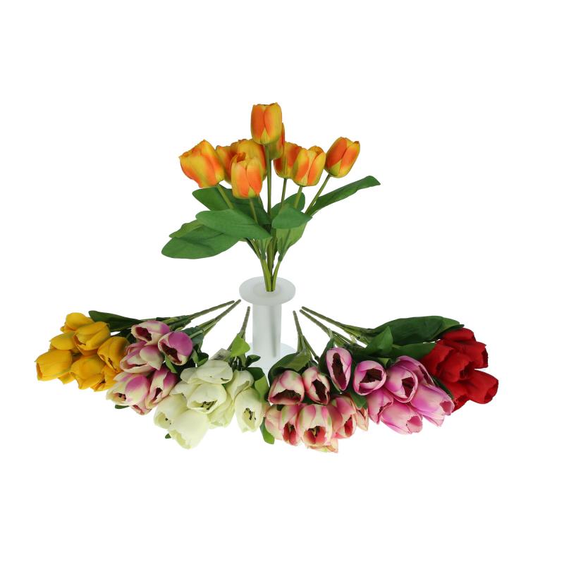 Kwiaty sztuczne bukiet tulipana