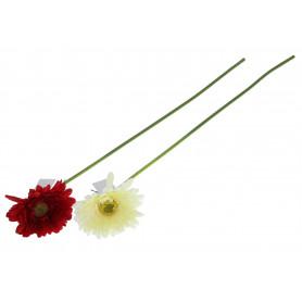 Искусственные цветы гербера одиночная