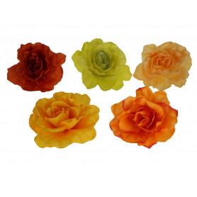 RÓŻA ROZWINIĘTA (wyrobowa)-Kwiaty sztuczne