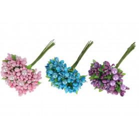 WIĄZKA DEKORACYJNA-Kwiaty sztuczne