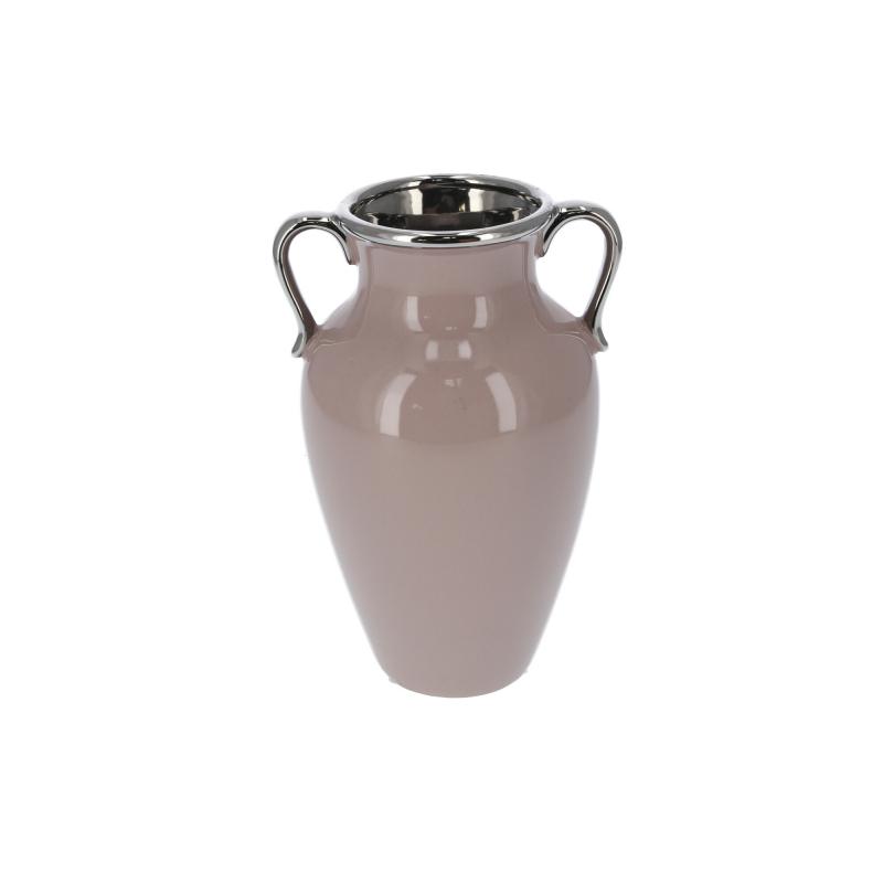 Ceramiczny wazon beż