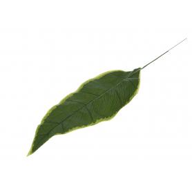 Kwiaty sztuczne liść heliconia