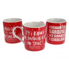 Ceramika kubek Drink Idea
