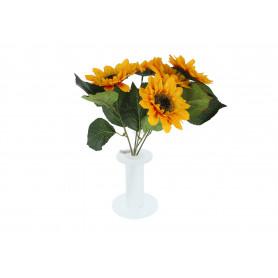Kwiaty sztuczne bukiet słonecznik