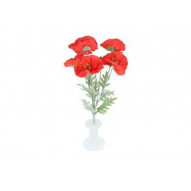 Kwiaty sztuczne bukiet mak