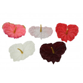 ANTURIUM (wyrobowe)-Kwiaty sztuczne