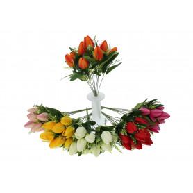 kwiaty sztuczne bukiet tulipan
