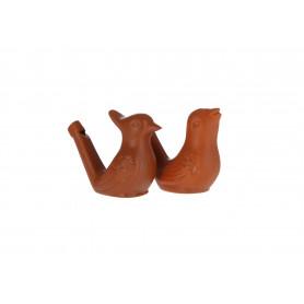 Ceramiczny gwizdek ptaszek 5,5x7x3,5cm