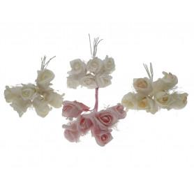 Искусственные цветы: розочка