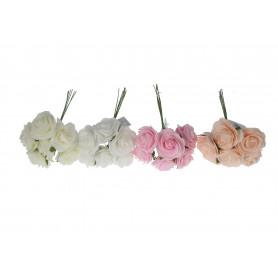 Kwiaty sztuczne pik róża pianka