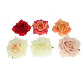 Kwiaty sztuczne róża główka