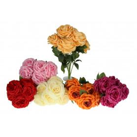 Kwiaty sztuczne bukiet róża