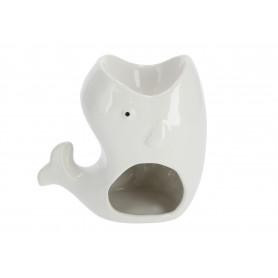 Ceramiczny kominek sowa