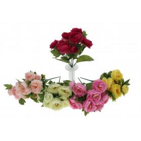 Kwiaty sztuczne bukiet piwonia