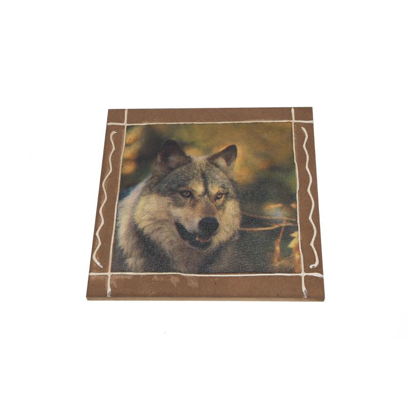 Dekoracyjny obrazek wilk