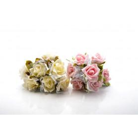 RÓŻYCZKI WIĄZKA-Kwiaty sztuczne