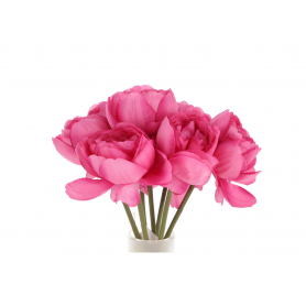 Kwiaty sztuczne bukiet peoni