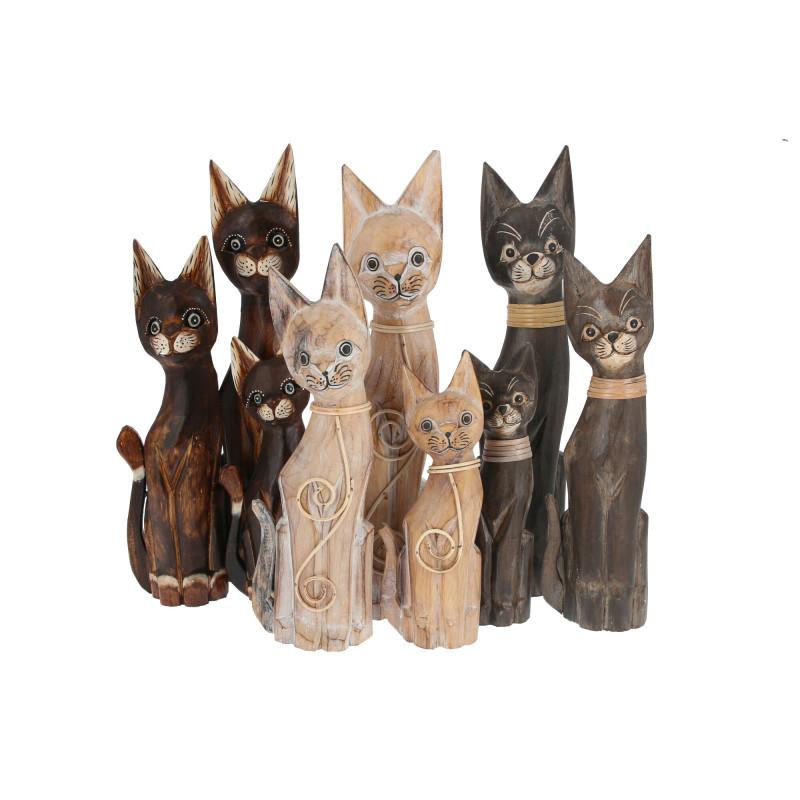 Деревянные коты
