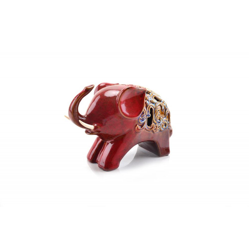 Ceramiczna figurka słonia