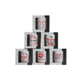 DZIEŃ MAMY Ceramika kubek Boss 300ml