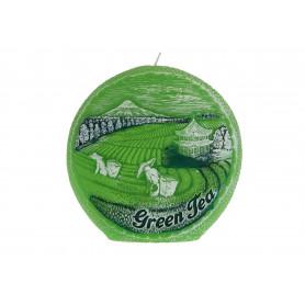 Свеча ароматизированная Green Tea dysk 130