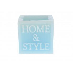 Świeca HOME&STYLE kwadrat