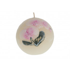 Świeca orchidea kula 10