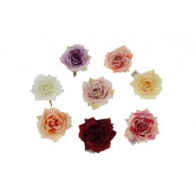 Kwiaty sztuczne róża satynowa