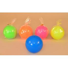 Свеча цветная FLUO шар 80