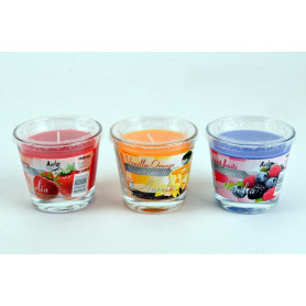 Świeca zapach.mix sweet&cream