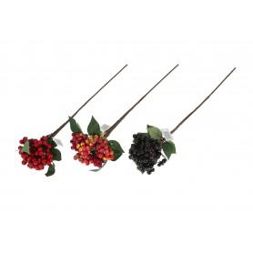 Kwiaty sztuczne gałązka jagody