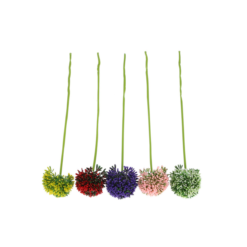 Kwiaty sztuczne czosnek dodatek