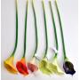 Kwiaty sztuczne: kalla gumowa