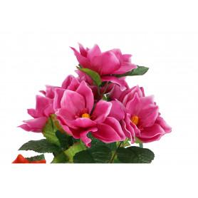 Искусственные цветы букет магнолии
