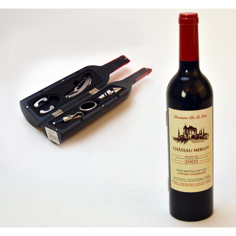 Tw.sztuczne akcesoria winiarskie butelka