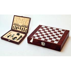 Tw.sztuczne akcesoria winiarskie szachy
