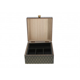 Tw.sztuczne pudełko na biżuterie