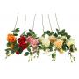 Kwiaty sztuczne róża pojedyncza